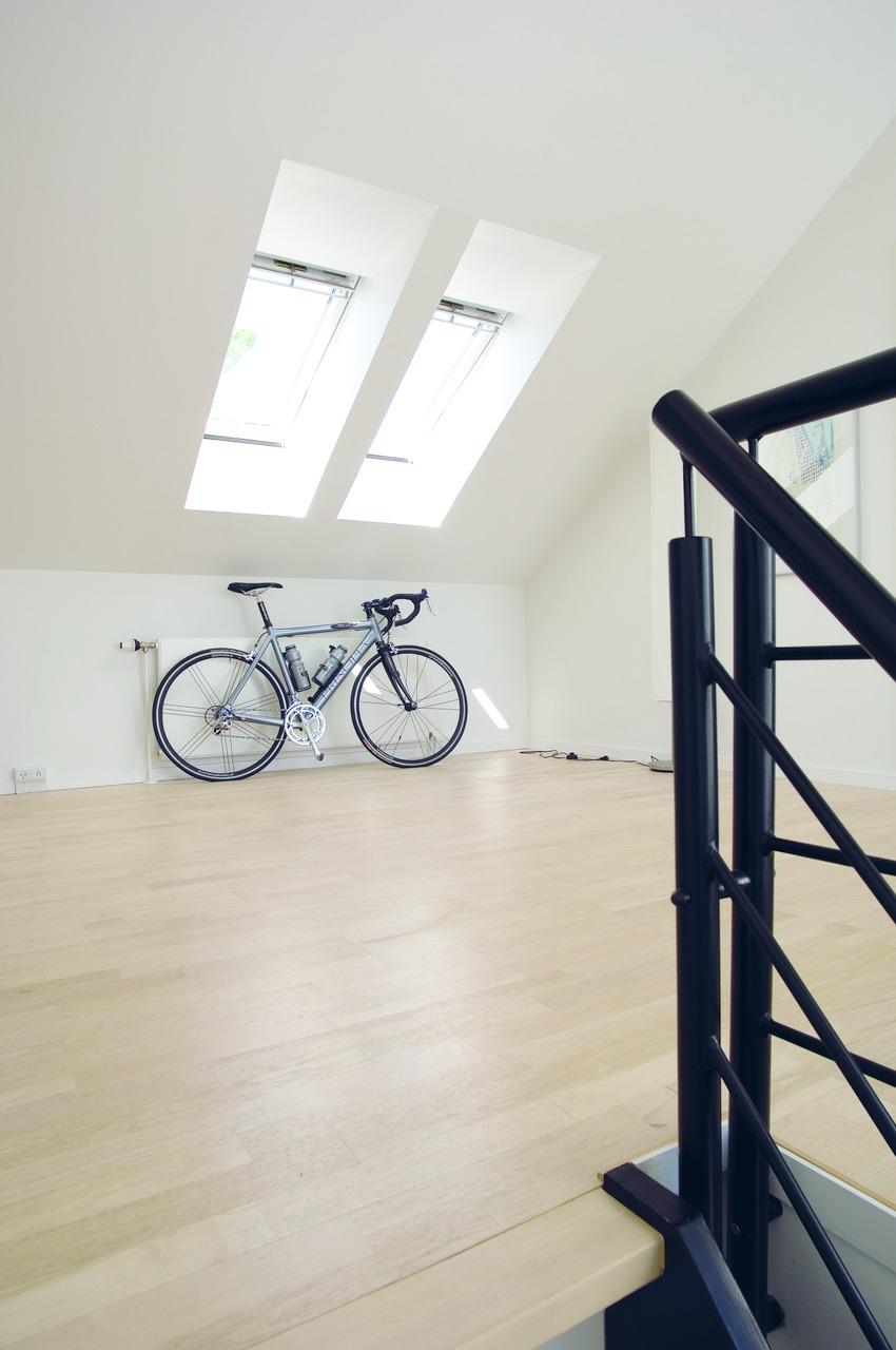 L'angolo per la bicicletta