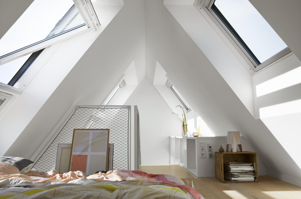 10 suggerimenti per sfruttare al meglio ogni angolo della mansarda. Black Bedroom Furniture Sets. Home Design Ideas
