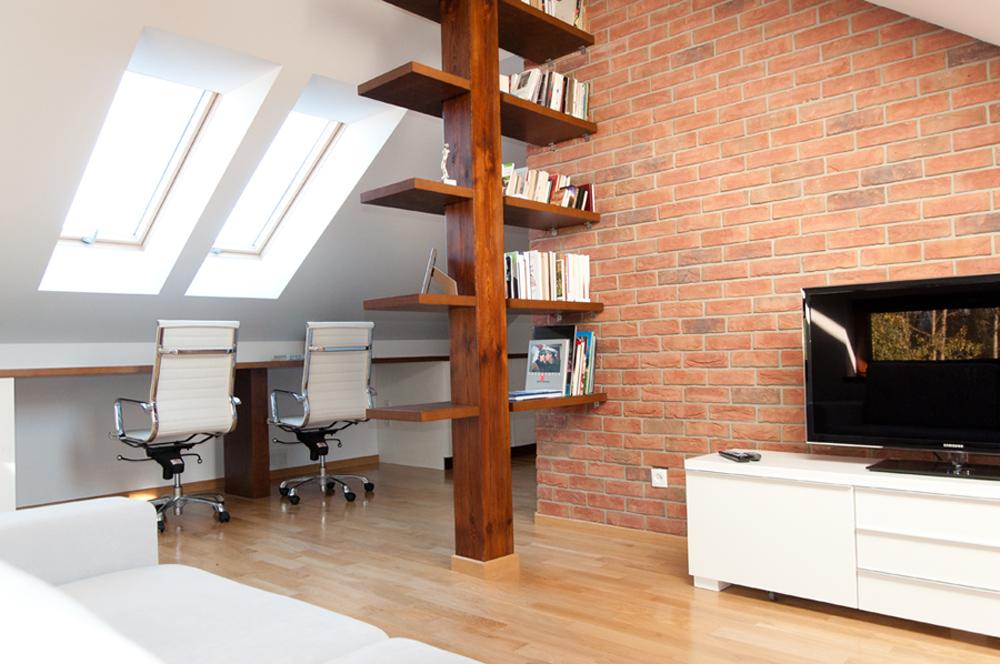 8 modi per ottenere un angolo ufficio in mansarda - mansarda.it - Creare Angolo Studio In Soggiorno 2