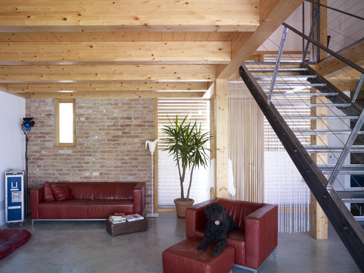 la trasformazione di un fienile in una residenza