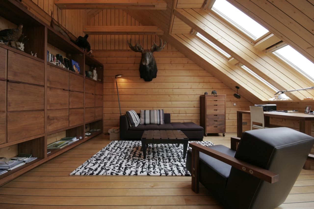 Vivere in un ambiente a doppia altezza for Idee arredamento mansarda