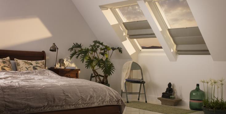 La camera da letto in mansarda - Camere da letto tumblr ...