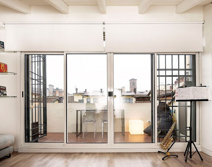 Terrazzo Con Vetrata ~ Home Design e Ispirazione Mobili