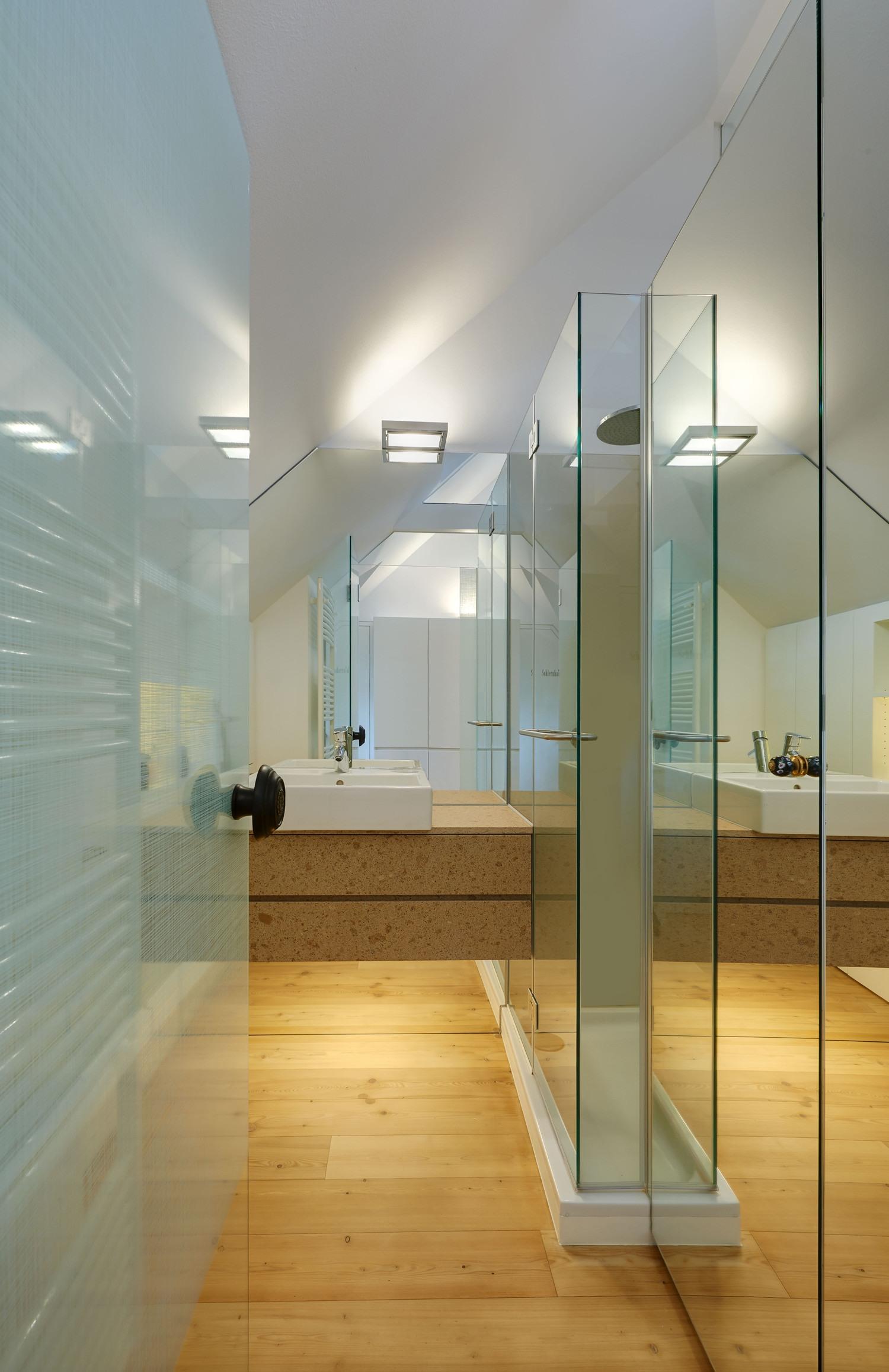 Un appartamento in una mini mansarda di 50 metri quadri for Piani a pianta aperta