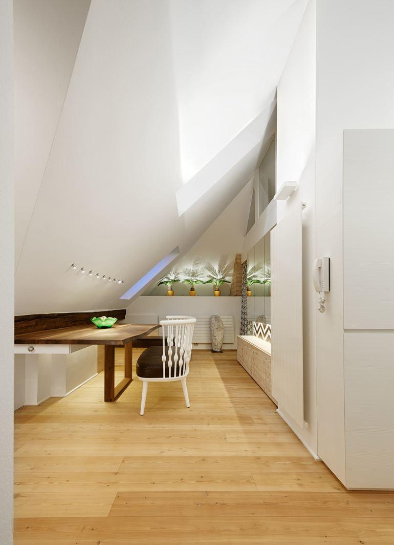 Un appartamento in una mini mansarda di 50 metri quadri for Un appartamento