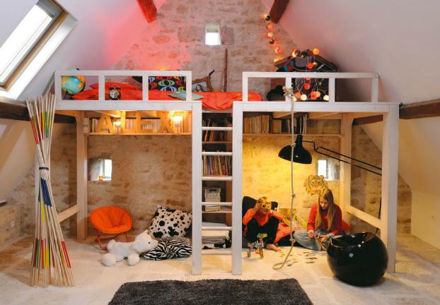 Awesome_Attic_Lof_-Kids_Bedroom