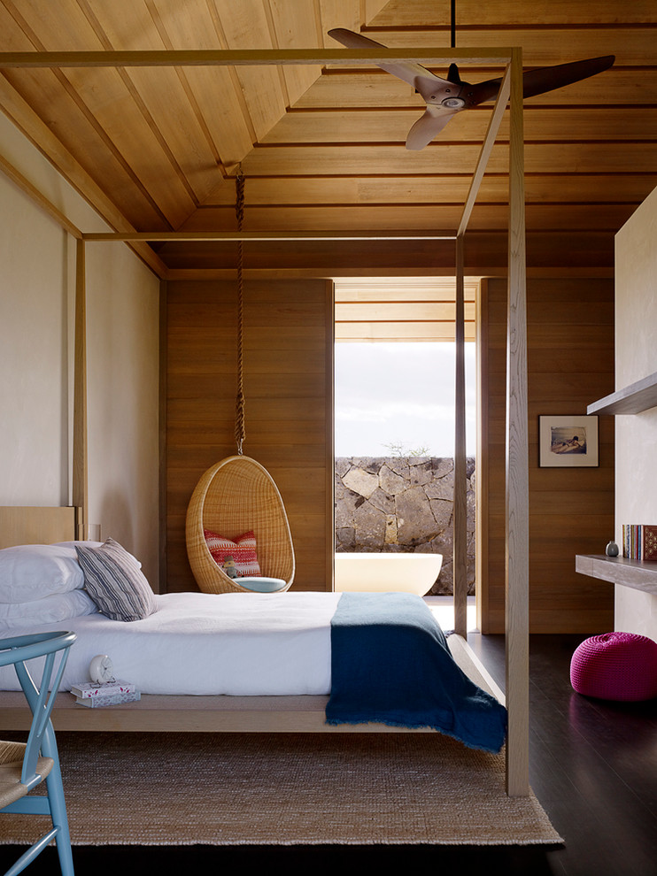 Attractive-Vaulted-Ceilings-home-renovations-Contemporary-Bedroom-Hawaii