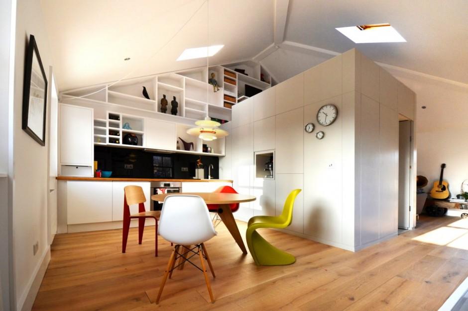 Un loft di design a londra for Idee originali per arredare appartamenti
