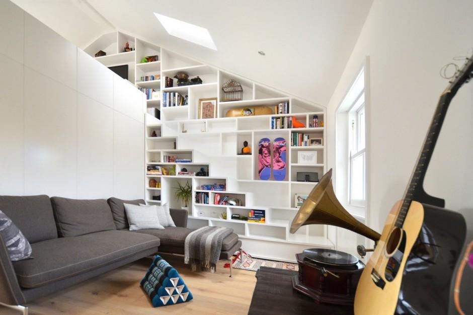 Un loft di design a londra for Idee di progettazione di layout di piccole case