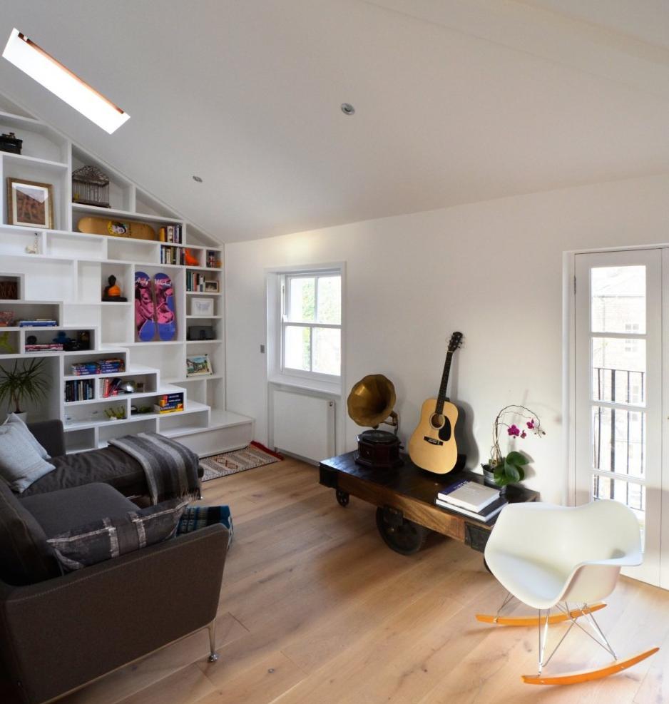 Un loft di design a londra for Generatore di layout della stanza