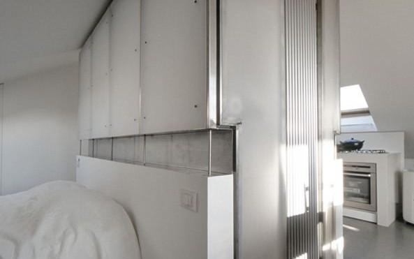 Un monolocale mansardato sui tetti di torino - Bagno in mansarda non abitabile ...