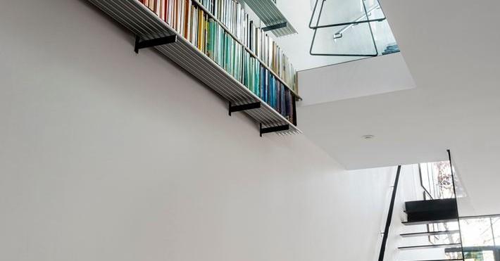 Grandi vetrate per un loft luminoso for 3 piani di casa bagno 1 camera da letto