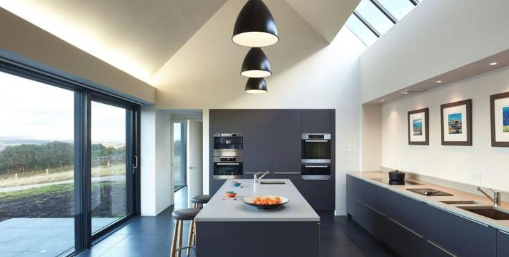 Una casa mozzafiato for Keuken inrichten 3d