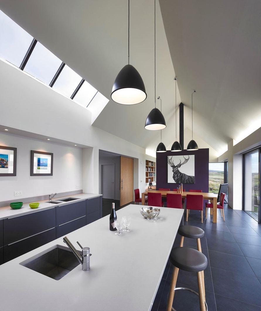 Una casa mozzafiato - Areazione cucina ...