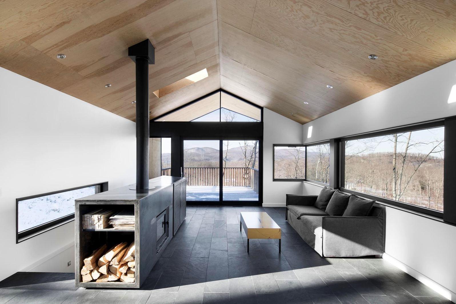 Una casa a contatto con la natura - Architecturen volumes ...
