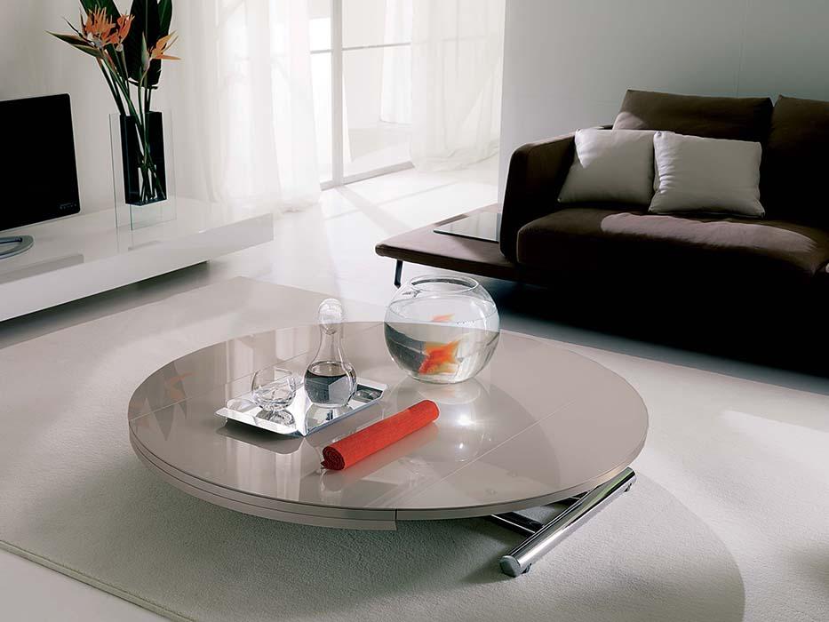 Tavolini Da Salotto Che Si Trasformano In Tavoli Da Pranzo.Mobili Per Piccoli Spazi I Trasformabili Casa Luce
