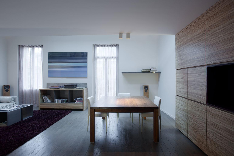 Tre appartamenti sovrapposti diventano un loft for Soggiorno a montecarlo
