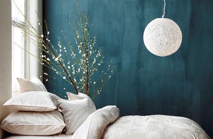 Camera Da Letto Blu Balena : Parete blu balena parete camera da letto blu colori freddi in