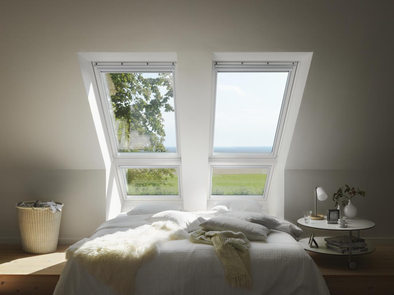 Tende per interni for Velux finestre per mansarda