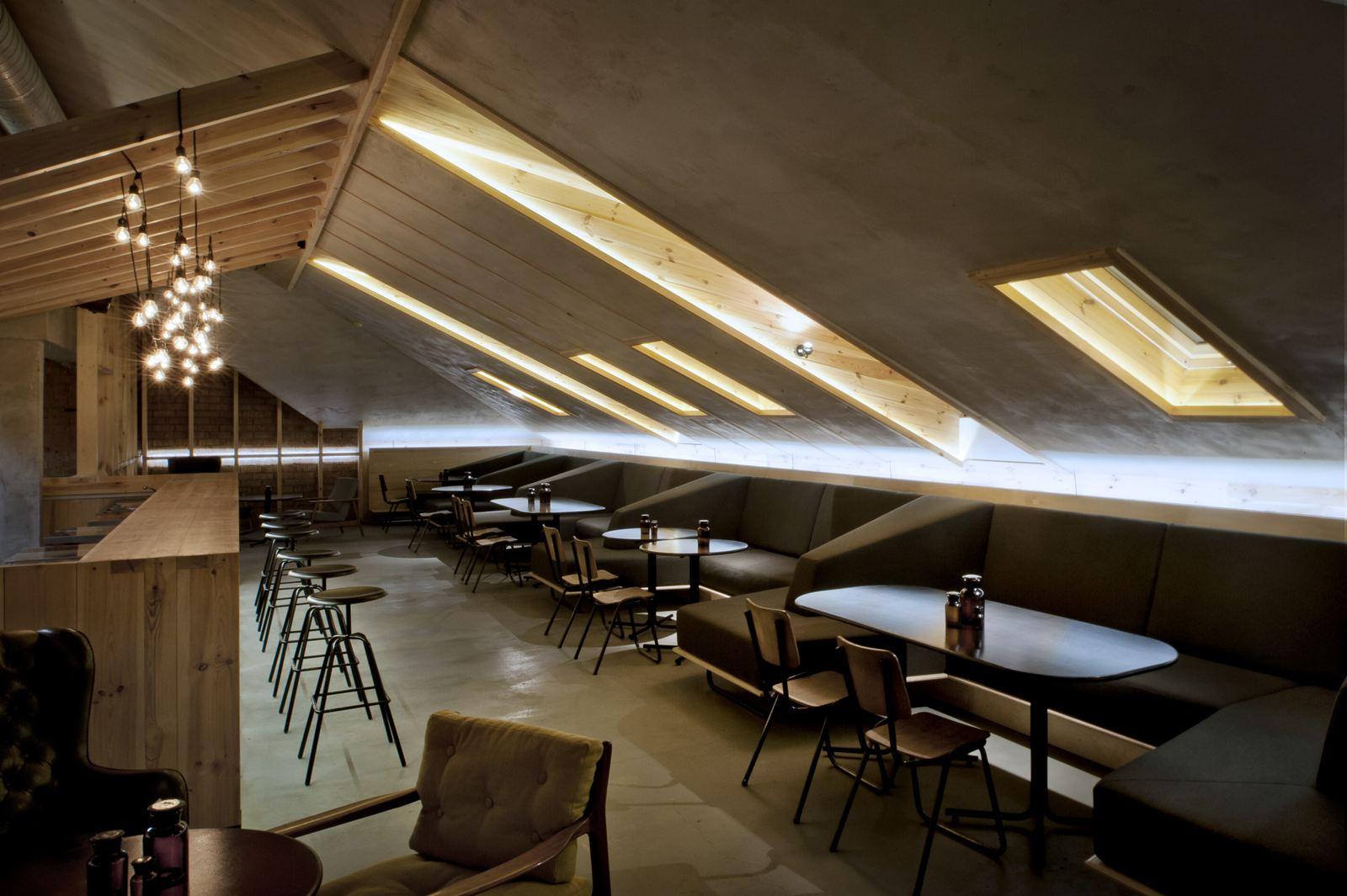 Un bar in mansarda - Mansarda.it
