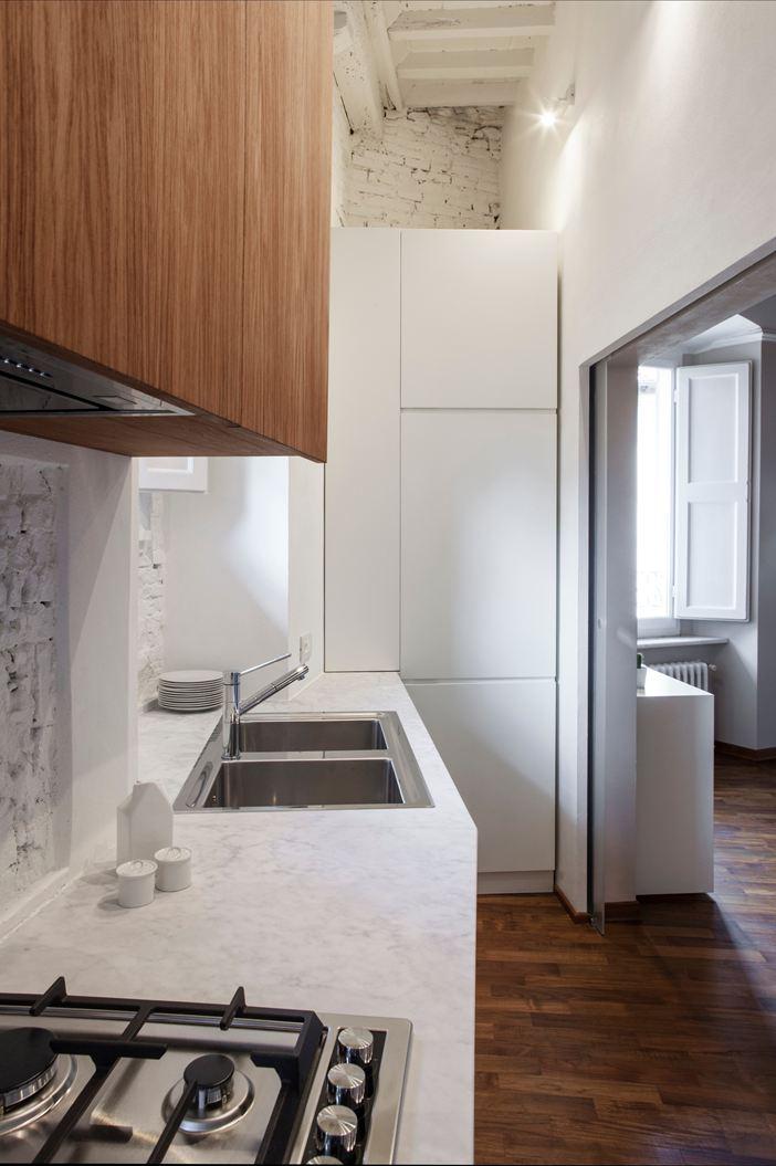nicchie a muro in ceramica : Parete Cucina Mattoncini: Finiture uniche per le pareti della cucina ...