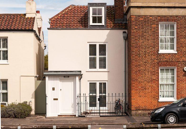 Il recupero di un antico cottage con mansarda for Piani architettonici di cottage