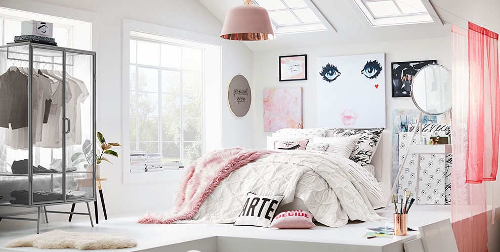 Idee per la camera da letto dei teenager - Idee per decorare una stanza ...