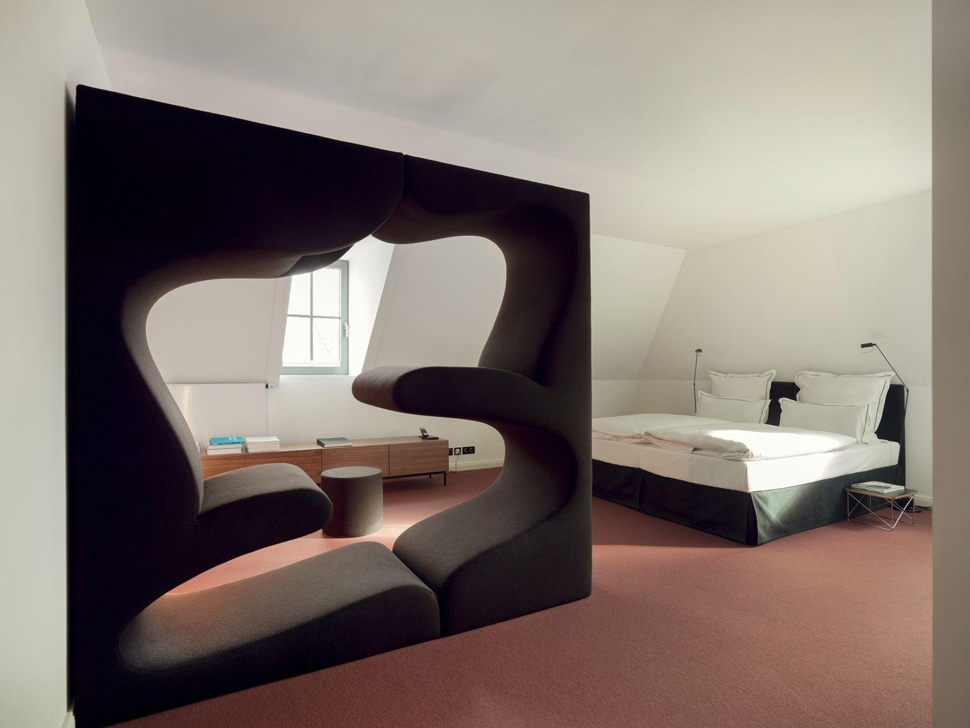 Camere Tumblr Piccole : Un hotel storico con stanze in mansarda mansarda.it