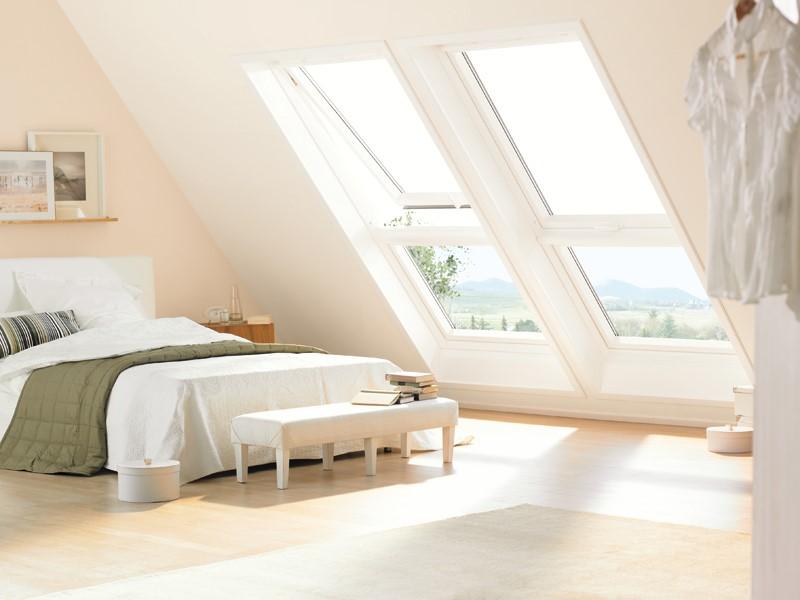 9 idee per una camera da letto tranquilla - Quanto costa una finestra velux ...