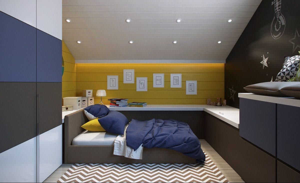 Idee per la camera da letto dei teenager for Arredare camera da letto ragazzo