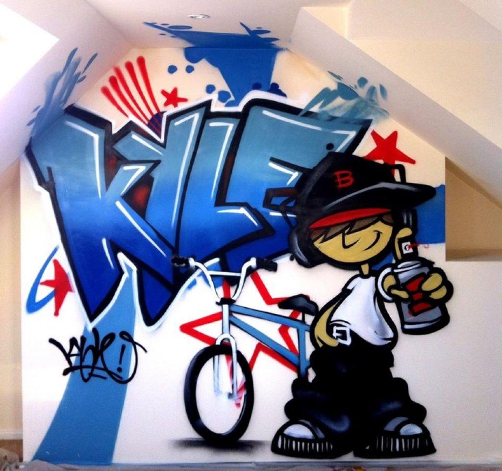 Graffiti Bedroom Wallpaper Names