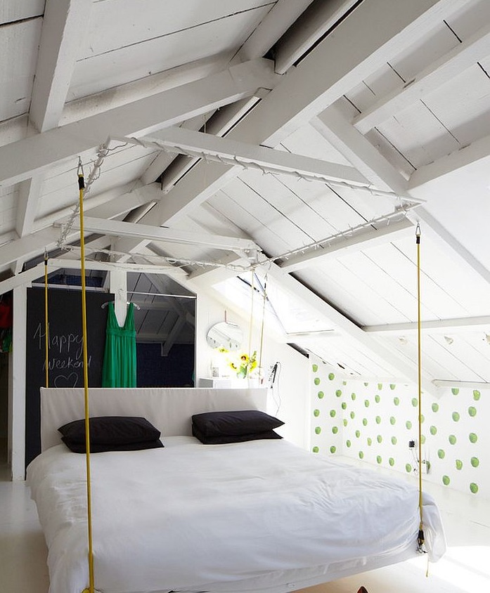 attic room ideas tumblr - Idee per la camera da letto dei teenager Mansarda