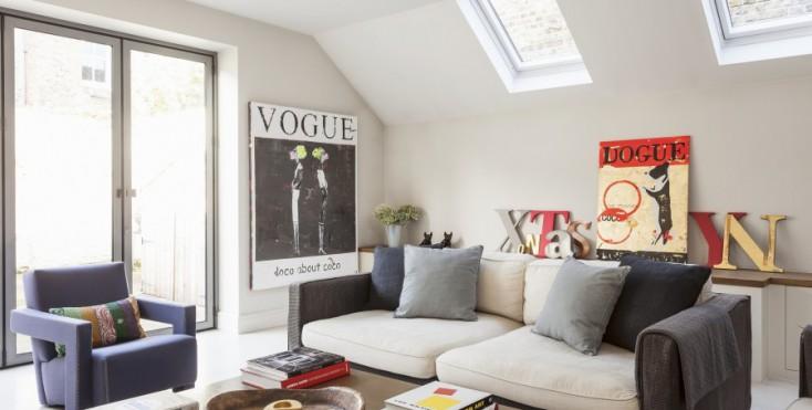 Idee Salotto Mansarda: Come arredare un piccolo soggiorno ...