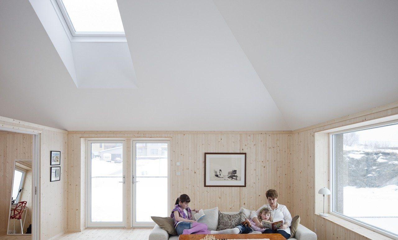 Le soluzioni velux per la neve e il freddo for Velux finestre per mansarda