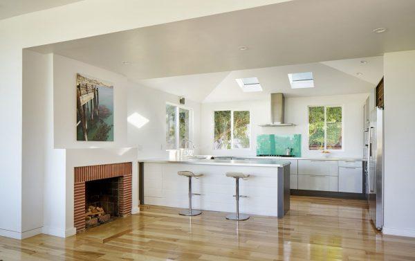 Finestre per tetti per la cucina nell'estensione
