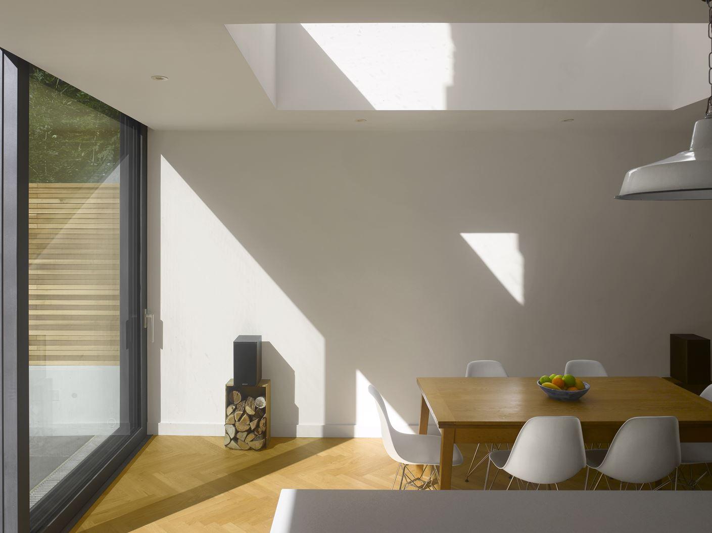 l 39 ampliamento di una casa a schiera su due livelli