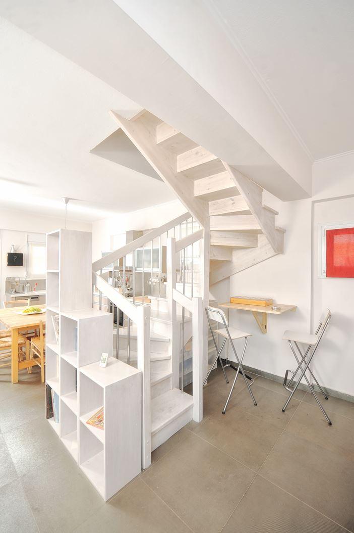 Un attico su due piani   mansarda.it