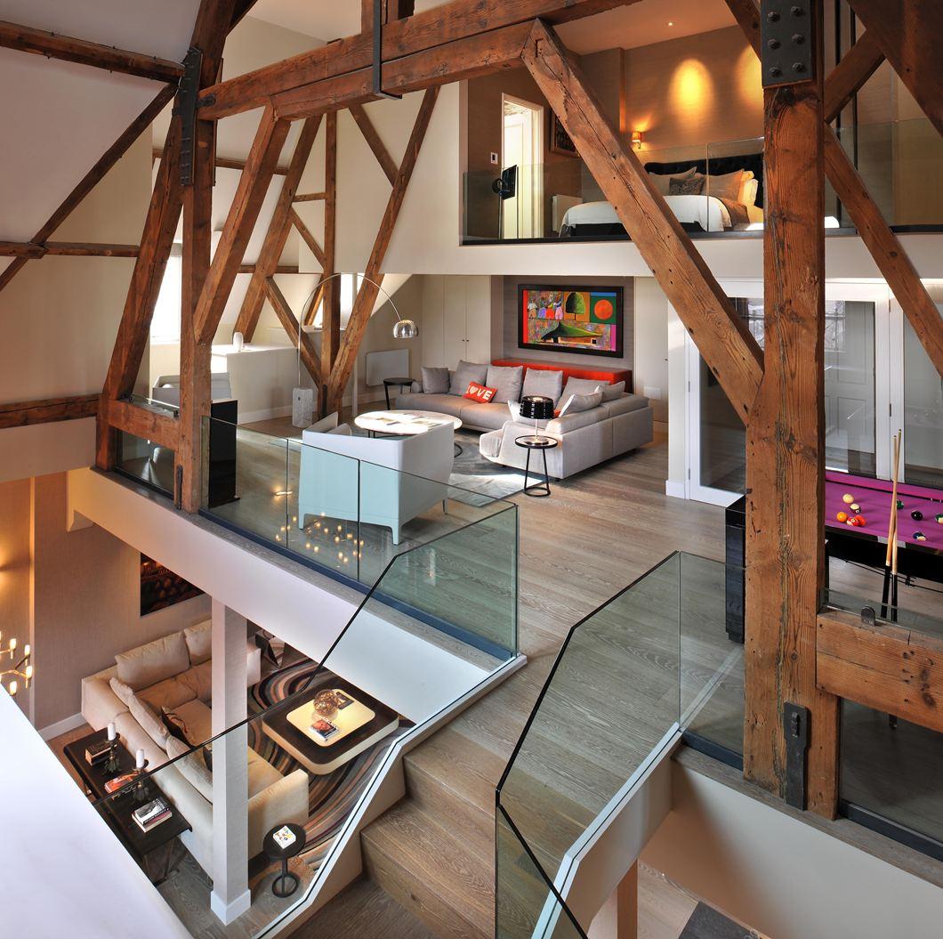 Una casa su tre piani con mansarda for Sims 4 piani di casa