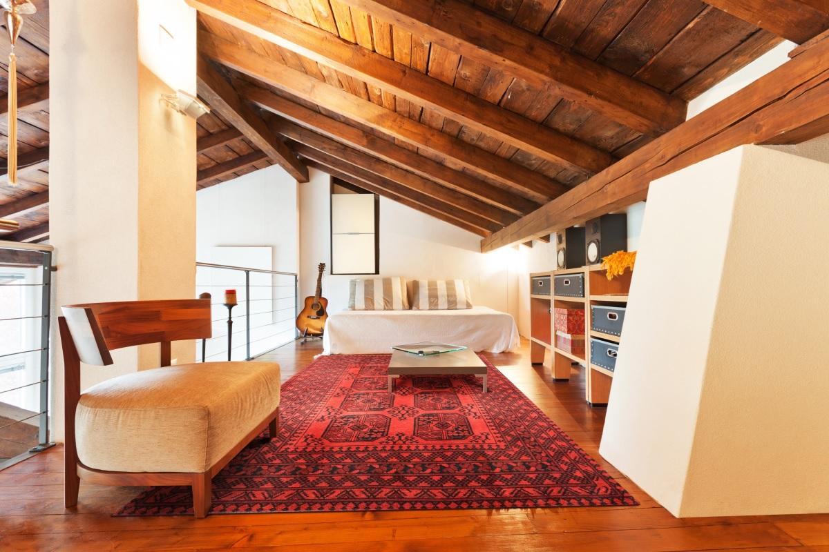 Una stanza per gli ospiti in mansarda for Aggiungendo una stanza al garage