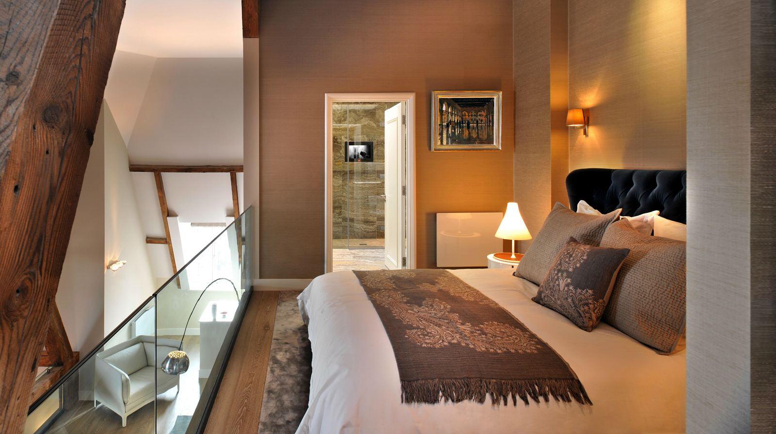 Una casa su tre piani con mansarda - Camere da letto soppalco ...
