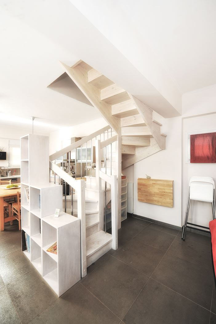 Un attico su due piani for Appartamento a due piani