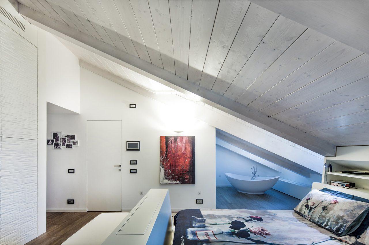 Camera da letto con vasca - Vasca in camera da letto ...