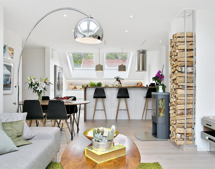 Casa immobiliare accessori mansarda open space for Fargione scale