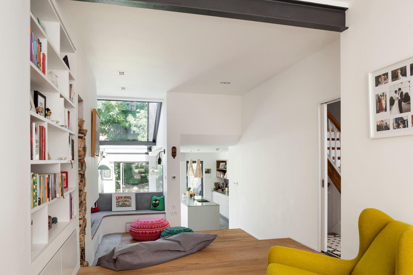 Il recupero di una mansarda sopra casa - Open space casa ...