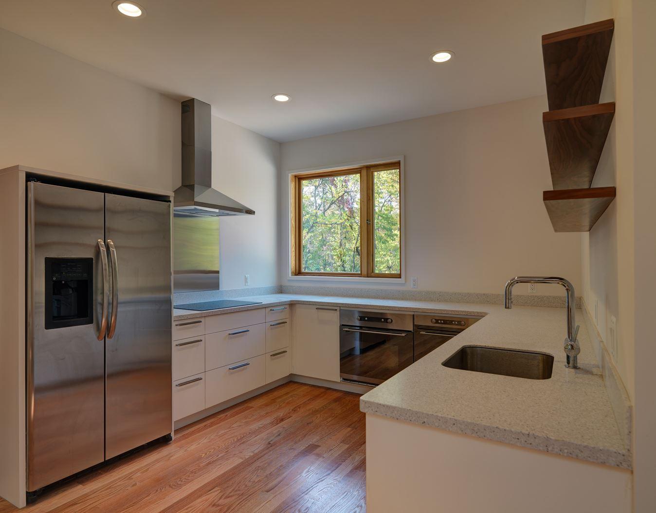 Un loft ad alta efficienza energetica for Finestra in cucina