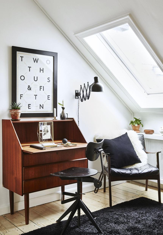 Come arredare una mansarda in stile vintage - Mobili danesi vintage ...