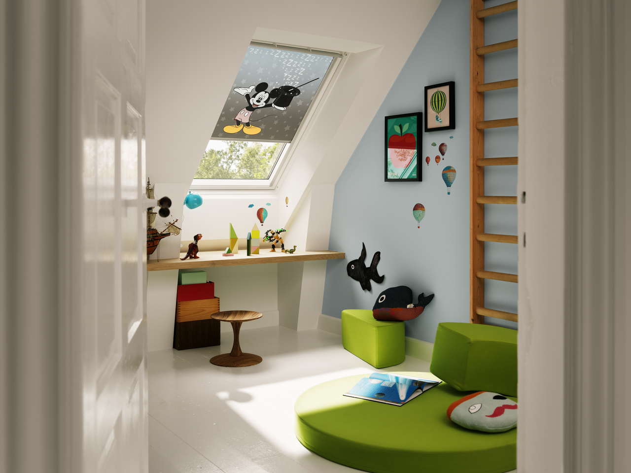 Tende per la camera dei bambini for Tende per velux