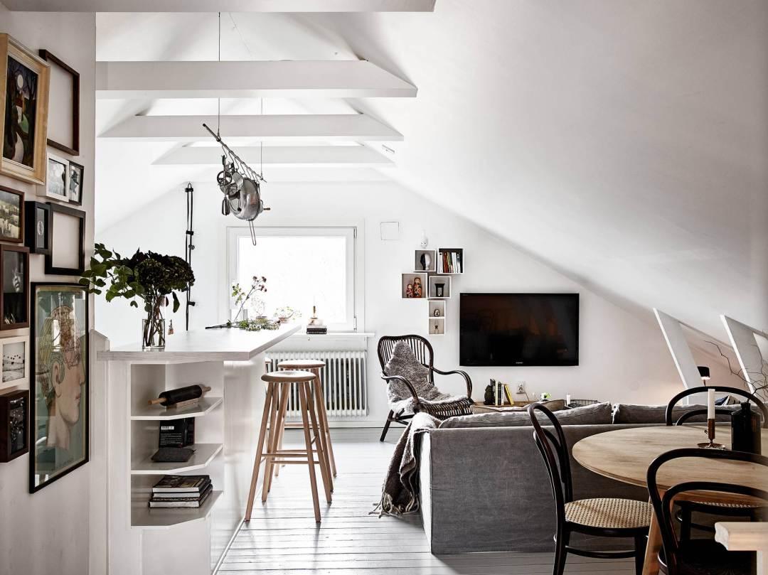 Come mescolare l arredamento in stile nordico con i mobili - Spa in casa arredamento ...