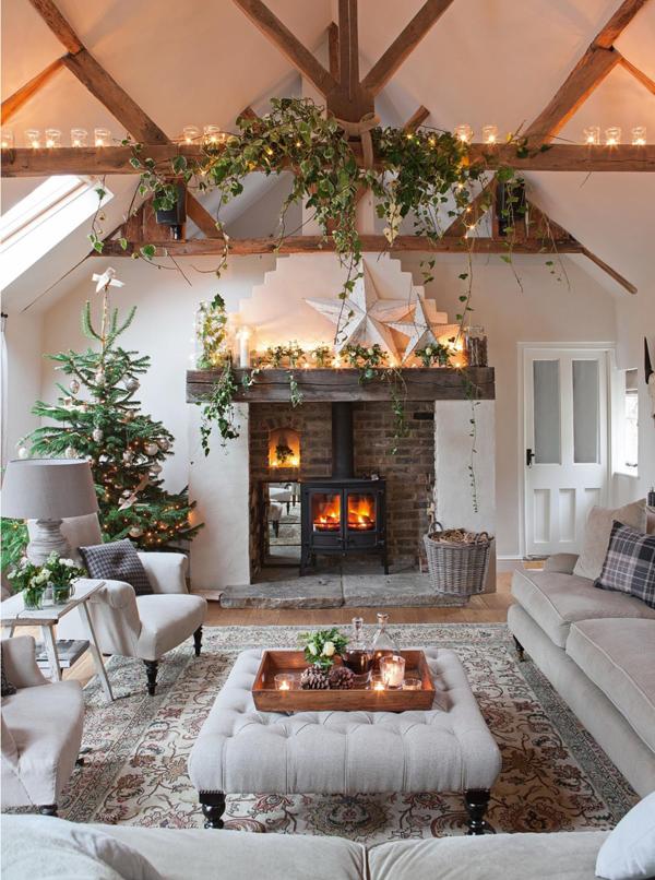 Natale in mansarda - Decorazioni per camini ...