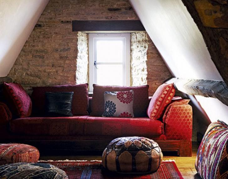 Salotto etnico boho - The rustic attic ...